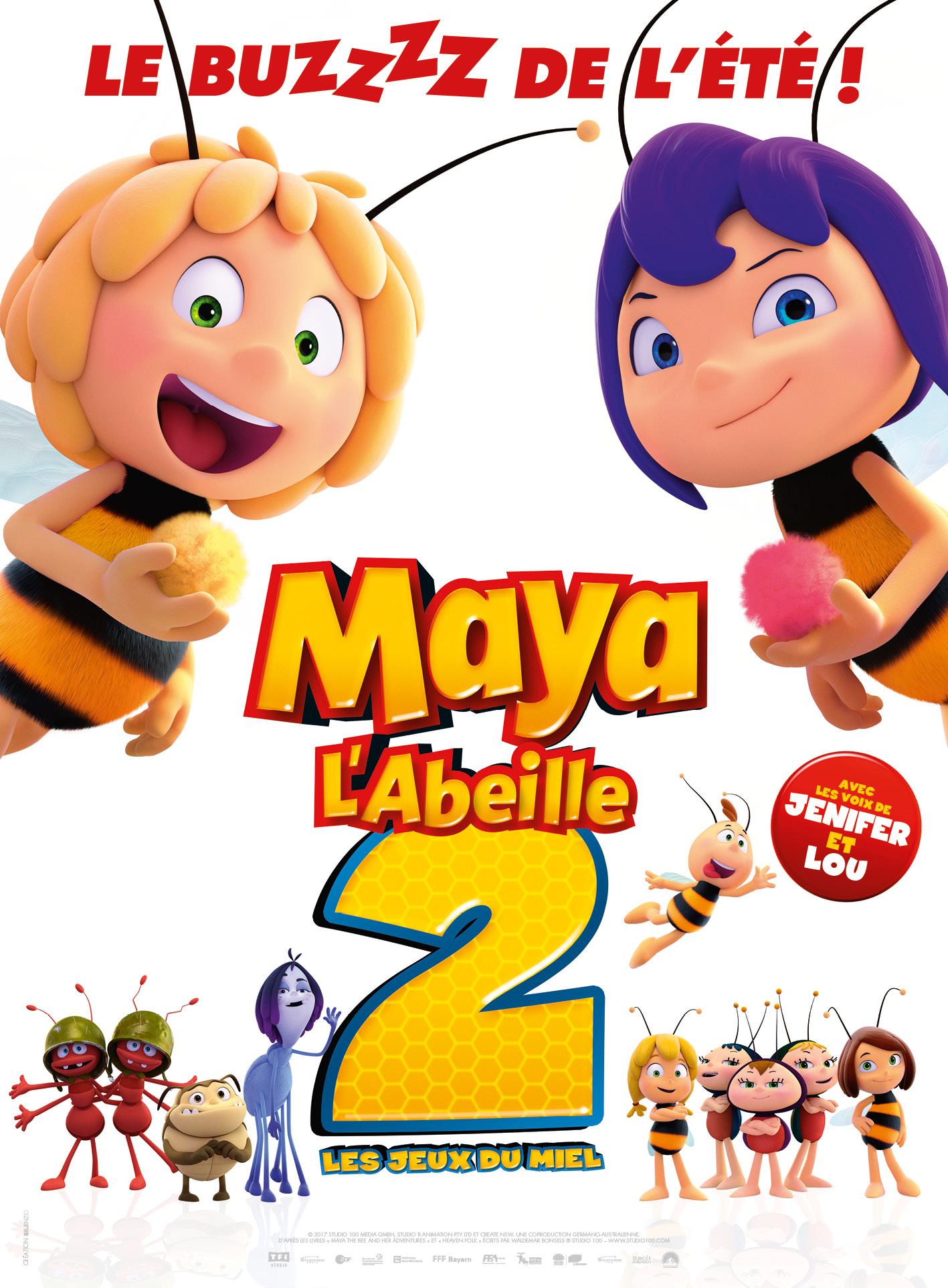 s ances film maya l 39 abeille 2 les jeux du miel auxerre cin ma cgr. Black Bedroom Furniture Sets. Home Design Ideas
